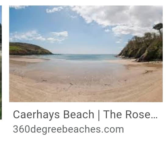 12.  Caerhays Beach Cornwall