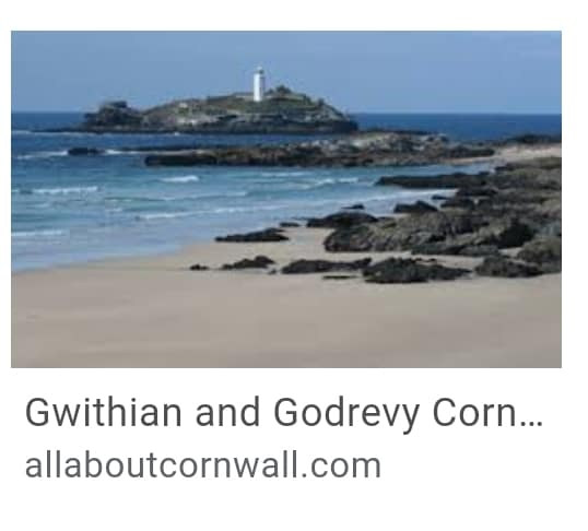 6. Gwithian or Godrevey Beach Cornwall