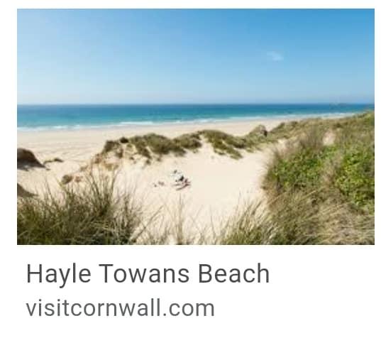 10. Hayle Towans Beach Cornwall