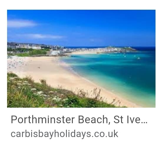 8. Porthminster St Ives Beach Cornwall