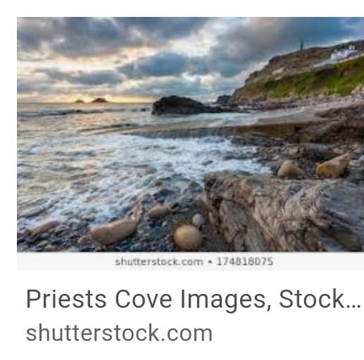 24. Priests Cove Cornwall