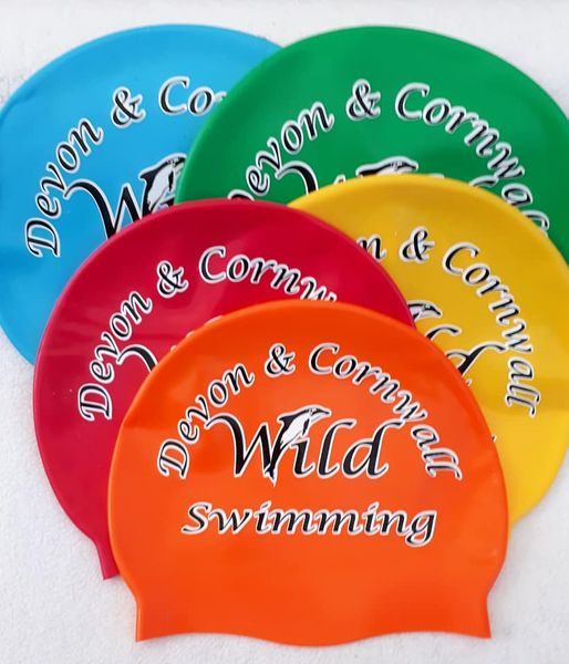 Devon and Cornwall Wild Swimming swimhat £10