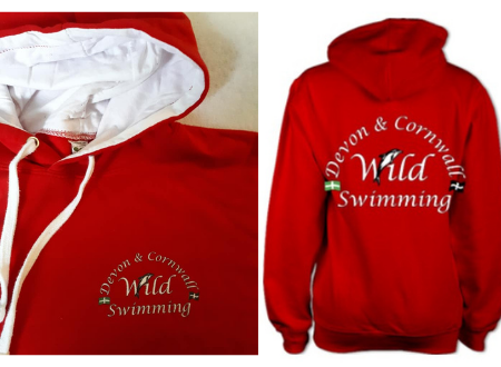 Devon & Cornwall Wild Swimming hoody £28